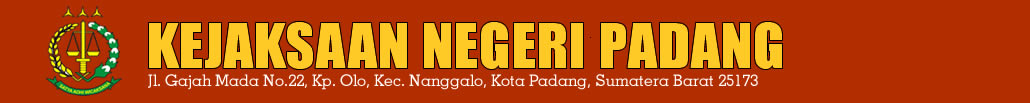 Website Resmi Kejaksaan Negeri Padang