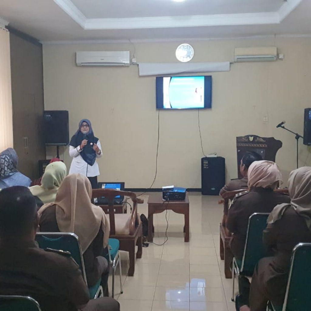 Kejari Padang Gandeng Dinas Kesehatan Kota Padang Gelar Sosialisasi Tentang Virus Corona Website Resmi Kejaksaan Negeri Padang